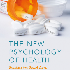 Cover of The New Psychology of Health, winner of 2020 Best Textbook Award